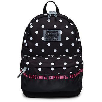 Superdry Toista sarja Montana Reppu laukku musta 90