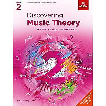Discovering Music Theory, The ABRSM Grade 2 Answer Book (Theory workbooks (ABRSM))