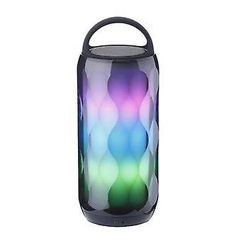المحمولة LED الملونة بلوتوث اللاسلكية المتكلم TF بطاقة اللايدص ستيريو