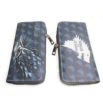 PU leather Coin Purse Cartoon anime wallet - Game of Thrones #134