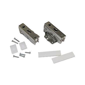 Whirlpool Compatibile frigorifero integrato congelatore inferiore e superiore Porta Cerniera Kit 3905 5.0 e 3362 5.0/3363 5.0