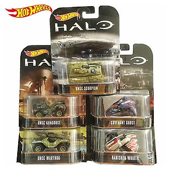Genuine Hot Wheels Halo War Game Classic Covenant Chariots Model Collection