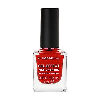 Nail polish Sweet almond 48 Coral Red 11 ml