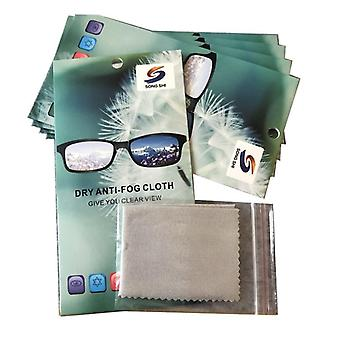 Anti-fog Glasses Cloth, Thicken Clear View Lens, Computer Mirror Clearing Wipe