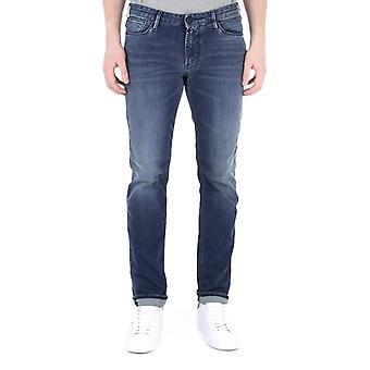 Emporio Armani Mid Blue Denim Wash J06 Slim Fit Jeans