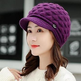 Double Layer Design Winter Rabbit Fur Caps