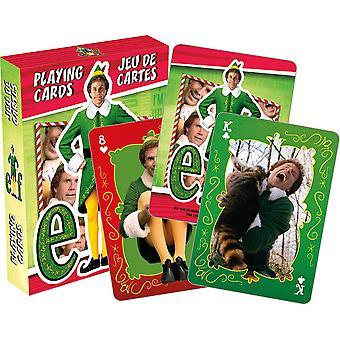 Elfo - amigo jugando a las cartas