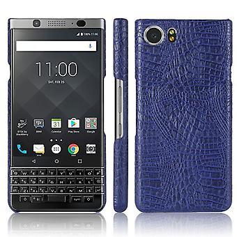 Leder Holster Cover für Blackberry Editione - Blau