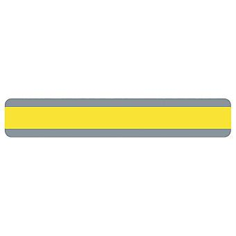 "Double Wide Sentence Strip Reading Guide, 1.25"" X 7.25"", Yellow"