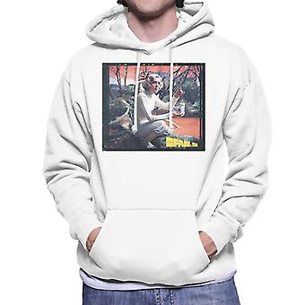 Space 1999 Helena Russell Matter Of Life And Death Men's Hooded Sweatshirt