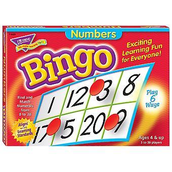 Gioco di Bingo numeri