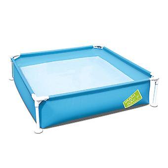 Bestway Splash and Play Rectangular Blue Frame Pool 48'' x 48'' x 12'', 365L