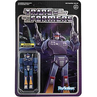 Transformers Reaction Figures Wave 2 - Rumble USA importation