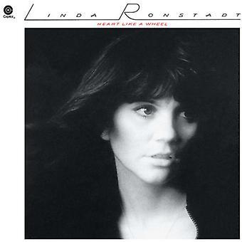Linda Ronstadt - hjärtat som ett Whe(LP) [Vinyl] USA import