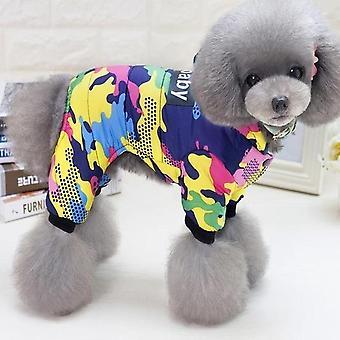 Pet Dog Clothes Winter Warm Dog Windproof Coat