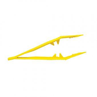 """Biohazard 5"""" Plastic Disposable Forceps Tweezers - pack of 10"""