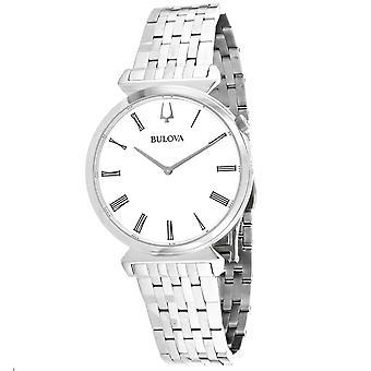 Bulova Women's Regatta White Dial Watch - 96A232