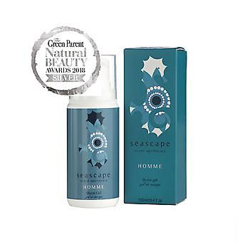 Seascape Island Apothecary: Homme (Voor Mannen) Shave Gel - 100ml