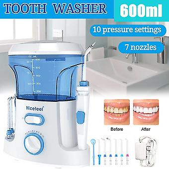 1000ml Electric Oral Irrigator Teeth Cleaner Care Dental Flosser