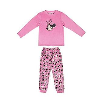 Children's pyjama minnie mouse pale pink for girls