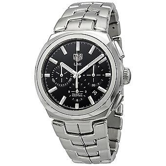 Tag Heuer Link Chronograph Automatic Black Dial Men's Watch CBC2110.BA0603