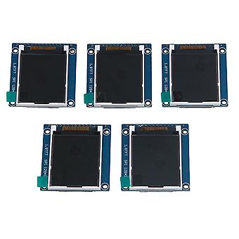 5Piece 1.8 inch Serial LCD Module Display 262K Screen PCB Adapter 3.4x4.7cm Cover