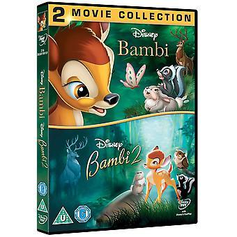 Bambi & Bambi 2 Double Pack DVD