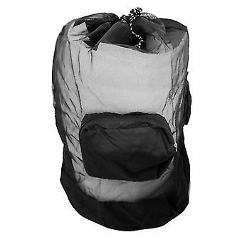 Lightweight Foldable Scuba Snorkeling Diving Mesh Bag - Backpack Duffel Dive