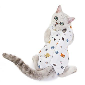 Owocowy wzór odzieży dla zwierząt domowych kombinezon sterylizacji dla kota