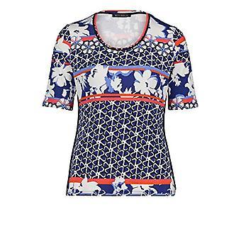 Betty Barclay 2812/2274 T-Shirt, Blue/White, 48 Woman