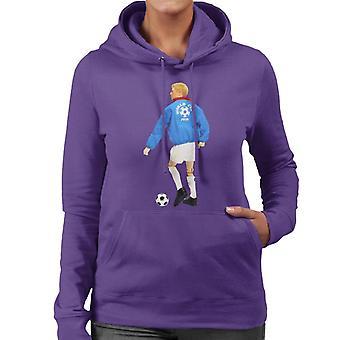 Action Man World Cup 1970 Women's Hooded Sweatshirt