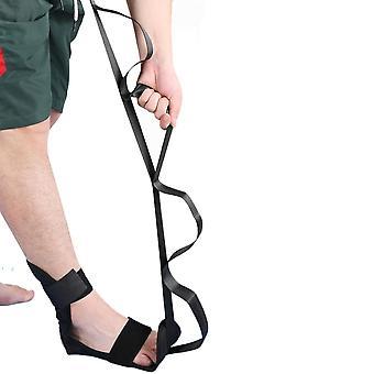Cinta de cinta de yoga esticando cinta de maca de perna para treinador de ginástica de dança de dança de dança de balé