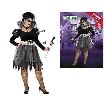 Kostüm für Erwachsene 115071 Spider Black Grey (2 Stk.)