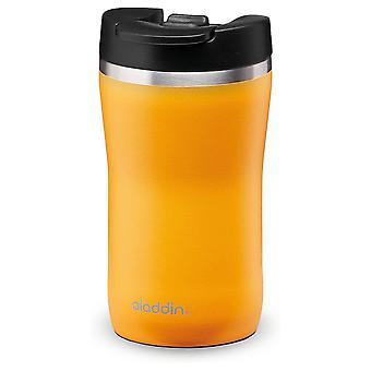 Aladdin Café Thermavac Leak-Lock Stainless Steel Mug 0.25L Sun Yellow