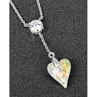Collezione cristallo Hanging Heart PP Collana Chiara
