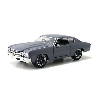 Snabb och rasande 1970 Chevy Chevelle SS Primer Grå 1:24 Jada 97835