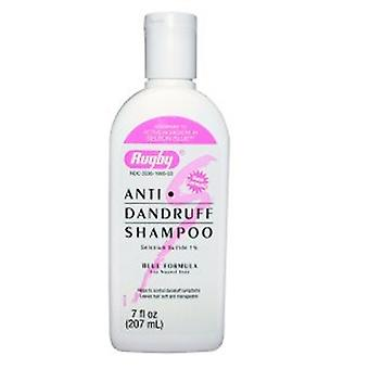 Rugby Selenium Sulfide Anti-Dandruff Shampoo, 7 Oz