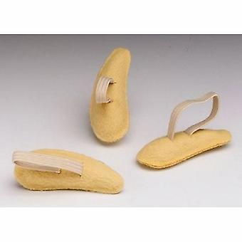Pedifix Hammer Toe Crest Pedifix Large Elastic Band Fastening Women Size 11 Plus / Men Size 9 to 10 Left Fo, 3 Count