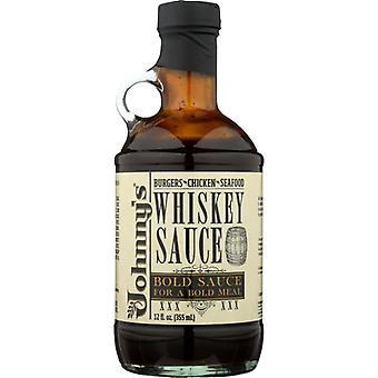 Johnnys Fine Foods Sauce Whiskey, Doos van 6 X 12 Oz