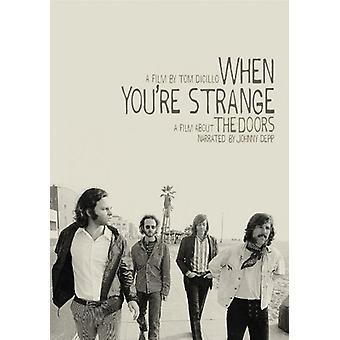 Doors - When You're Strange [DVD] USA import