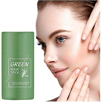 Green Tea Cleansing Clay Mud Mask Poreless Oil Control Care
