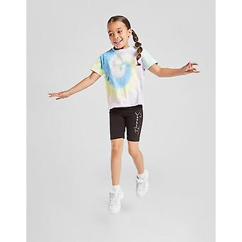 New Sonneti Girls' Mini Essential Cycle Shorts  from JD Outlet Black