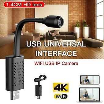 (No-Wifi verzió) 1080P Wireless Spy IP kamera Otthoni biztonság CCTV Mini HD WiFi Surveillance IR Cam