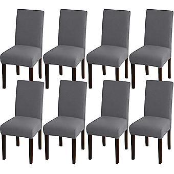 Ruokasalin tuoli kattaa venyttää tuolin kansia ruokasalin keittiötuoli kattaa irrotettavat tuolisuojan kannet ruokasaliin, hotelliin, harmaaseen