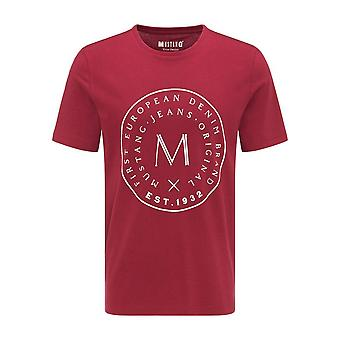 Mustang Shoes Alex C Print 10090207194 universal all year men t-shirt
