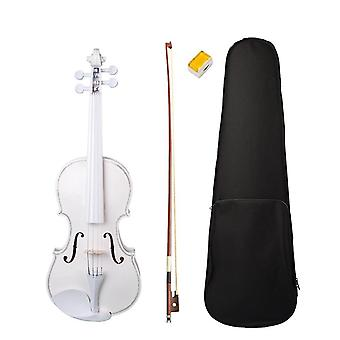 Fiddle Violins Set- Use 4/4 Violin W/case Bow Rosin