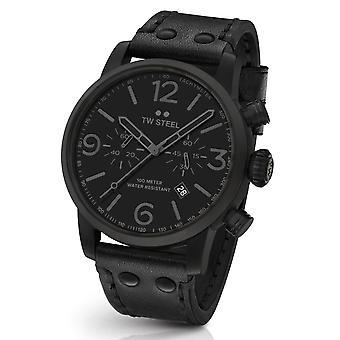 Orologio cronografo TW Steel MS114 Maverick All Black 48mm