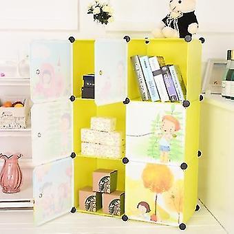 Kids Furniture Resin Wardrobe Baby Storage Cabinet
