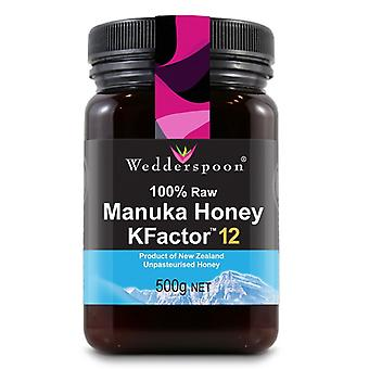 Wedderspoon RAW Manuka Honey KFactor 12, 500g