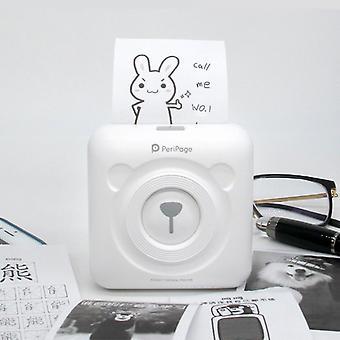 Bluetooth Mini Pocket Inkless Printer Thermal Printer